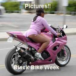 Hot Black Bike Week Pictures